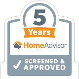 5 years homeadvisor screened and approved